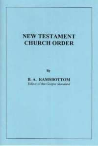 New Testament Church Order
