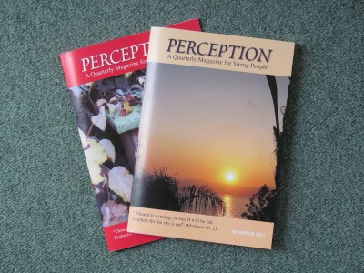 Perception Magazine 2020 (Canada)